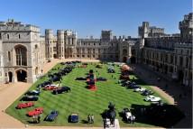 Nádvoří zámku Windsor