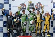 Podium 2011: Clark, Collins, Haquin, Hampe, Foray, Bachelet