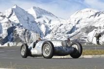 Der W 125 mit Jochen Mass zurück am Großglockner