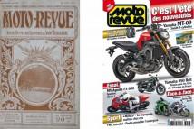 První číslo Moto Revue z roku 1913 a letošní vydání