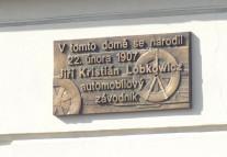 Pamětní deska na domě č. 440 v Turnově