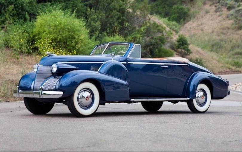 1939 Cadillac Convertible Coupe Fleetwood